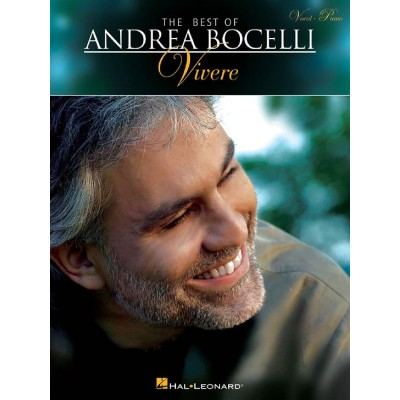 HAL LEONARD ANDREA BOCELLI - THE BEST OF ANDREA BOCELLI: VIVERE