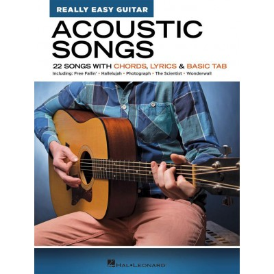 HAL LEONARD ACOUSTIC SONGS - REALLY EASY GUITAR SERIES
