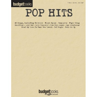 HAL LEONARD POP HITS - PIANO, VOCAL AND GUITAR