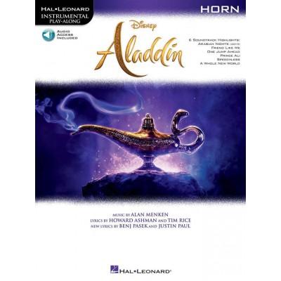 HAL LEONARD ALADDIN - HORN