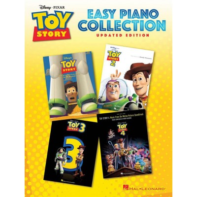 HAL LEONARD TOY STORY EASY PIANO COLLECTION - UPDATED EDITION