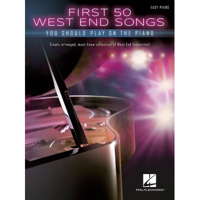 HAL LEONARD FIRST 50 WEST END SONGS