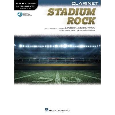 HAL LEONARD STADIUM ROCK - CLARINETTE