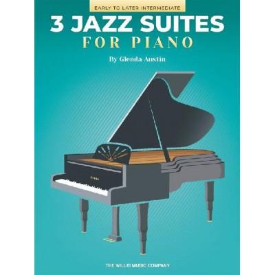 HAL LEONARD GLENDA AUSTIN - THREE JAZZ SUITES FOR PIANO - PIANO