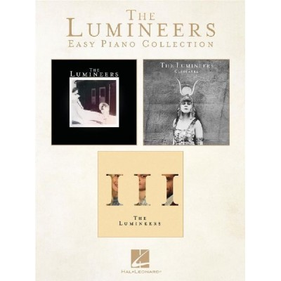 HAL LEONARD THE LUMINEERS - EASY PIANO COLLECTION