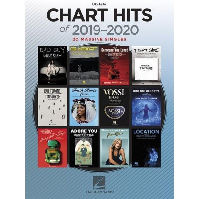 HAL LEONARD CHART HITS OF 2019-2020 - UKULELE