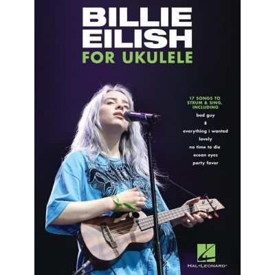 HAL LEONARD BILLIE EILISH FOR UKULELE - UKULELE