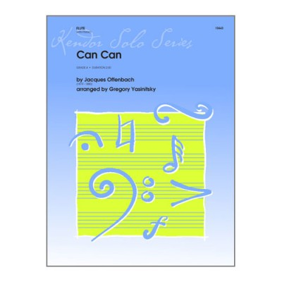 KENDOR OFFENBACH J. - CAN CAN - FLUTE & PIANO