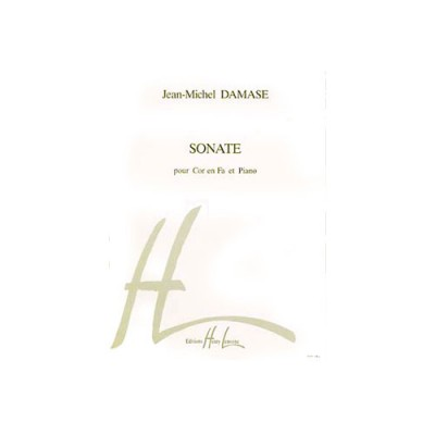 LEMOINE DAMASE JEAN-MICHEL - SONATE - COR, PIANO