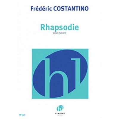 LEMOINE FREDERIC CONSTANTINO - RHAPSODIE - GUITAR