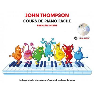 THE WILLIS MUSIC COMPANY COURS DE PIANO FACILE - PREMIÈRE PARTIE