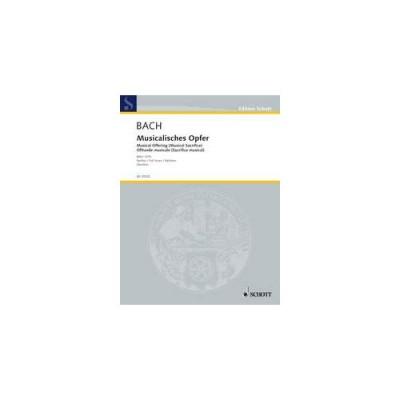 SCHOTT BACH J.S. - MUSIKALISCHES OPFER (VERSION ORCHESTRE) - CONDUCTEUR