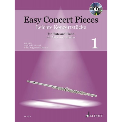 SCHOTT EASY CONCERT PIECES VOL.1 - FLUTE