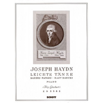 SCHOTT HAYDN JOSEPH - EASY DANCES HOB.IX:10 NR.1-12 - PIANO