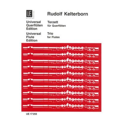 UNIVERSAL EDITION KERLERBORN R. - TERZETT - 3 FLUTES