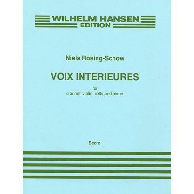 WILHELM HANSEN ROSING-SCHOW NIELS - VOIX INTERIEURES