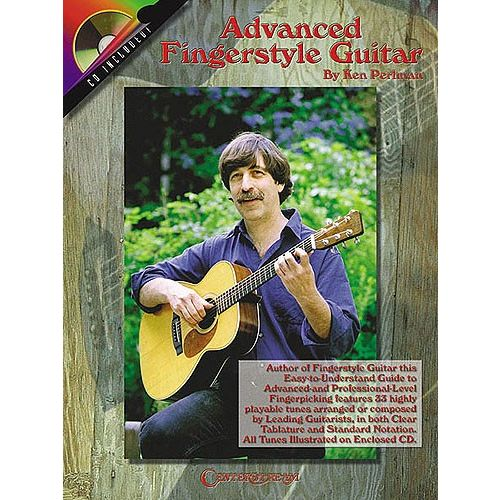 HAL LEONARD ADVANCED FINGERSTYLE + CD - GUITAR TAB