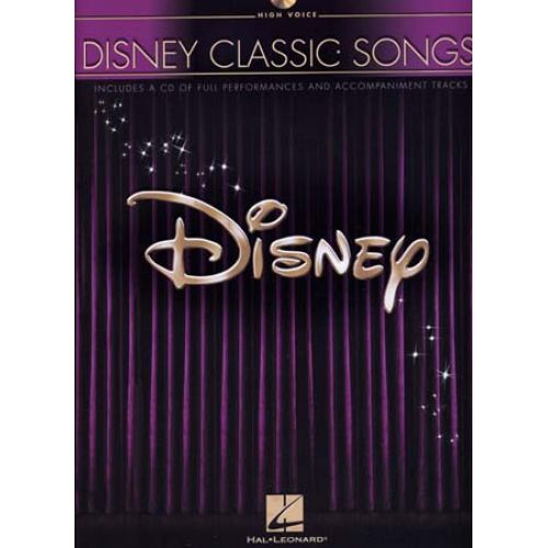HAL LEONARD DISNEY - CLASSIC SONGS + CD - PVG