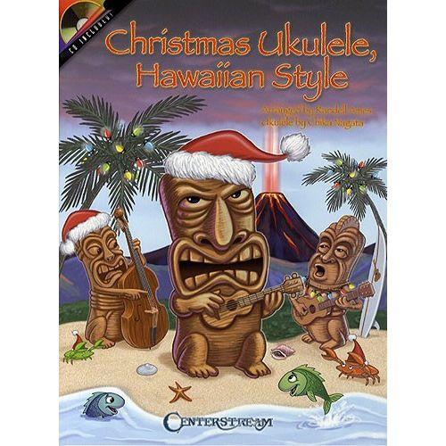 HAL LEONARD CHRISTMAS UKULELE, HAWAIIAN STYLE + CD - UKULELE