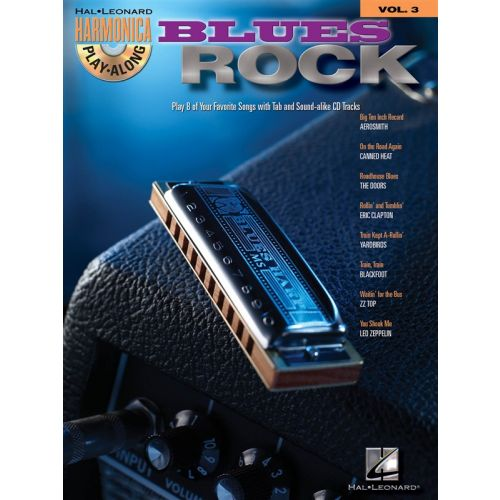 HAL LEONARD Harmonica Play-Along Volume 3 - Blues/Rock + CD