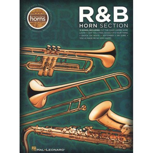HAL LEONARD R&B HORN SECTION - TRANSCRIBED HORNS