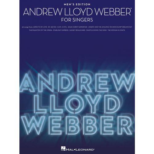 HAL LEONARD ANDREW LLOYD WEBBER FOR SINGERS - MEN'S EDITION - VOICE
