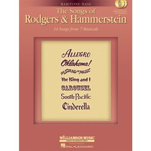 MUSIC SALES SONGS RODGERS HAMMERSTEIN BAR+ 2CD - BASS VOICE