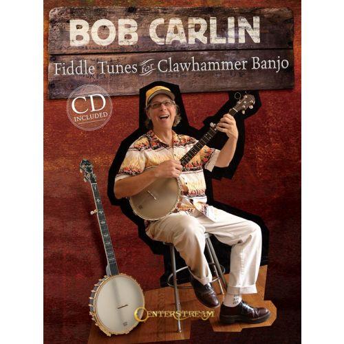 MUSIC SALES CARLIN FIDDLE TNS CLAWHMR + CD - BANJO TAB