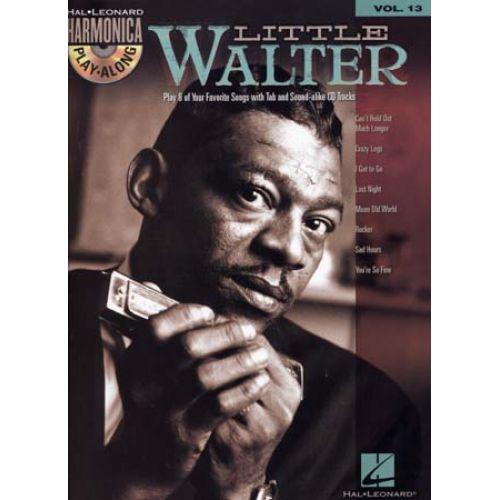 HAL LEONARD LITTLE WALTER - HARMONICA PLAY ALONG VOL.13 + CD