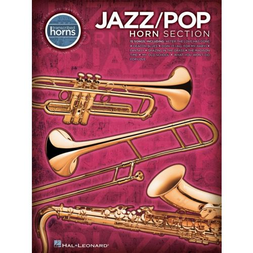 HAL LEONARD JAZZ/POP HORN SECTION TRANSCRIBED - TRUMPET