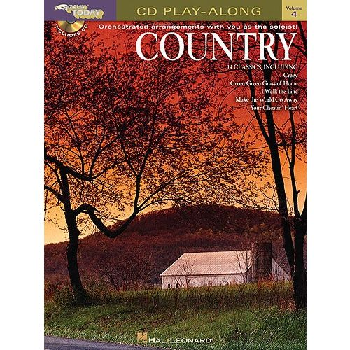 HAL LEONARD E-Z PLAY TODAY 4 COUNTRY + CD - PVG