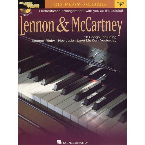 HAL LEONARD E-Z- PLAY TODAY 7 LENNON AND MCCARTNEY KBD - PIANO SOLO