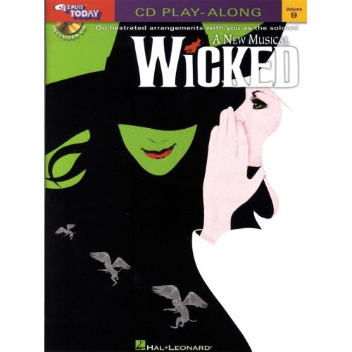 HAL LEONARD WICKED - A NEW MUSICAL + CD - PIANO SOLO