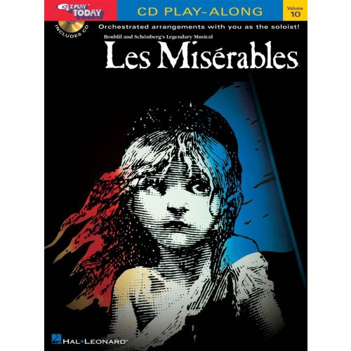 HAL LEONARD LES MISERABLES+ CD - 10 - KEYBOARD