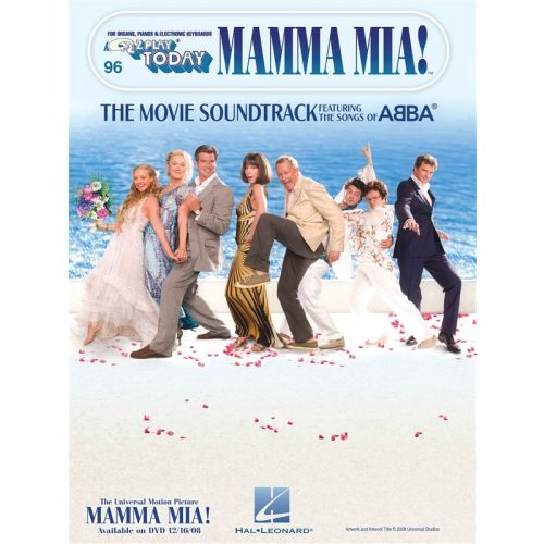 HAL LEONARD E-Z PLAY TODAY VOLUME 96 MAMMA MIA! MLC- MELODY LINE, LYRICS AND CHORDS