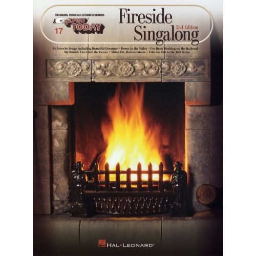 HAL LEONARD FIRESIDE SINGALONG - MELODY LINE, LYRICS AND CHORDS