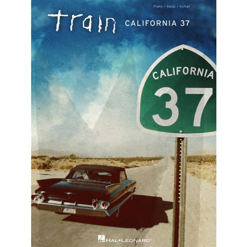 HAL LEONARD TRAIN CALIFORNIA 37 PVG ARTIST SONGBOOK - PVG