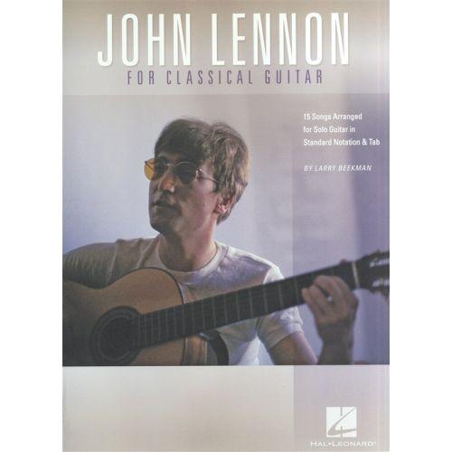 HAL LEONARD LENNON JOHN FOR CLASSICAL GUITAR SOLO - GUITAR