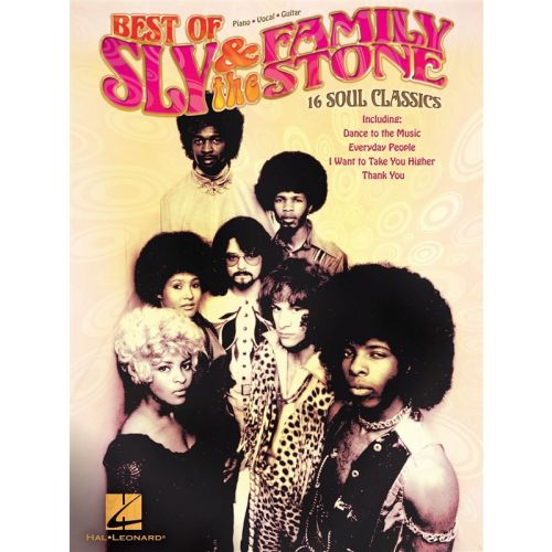 HAL LEONARD SLY AND THE FAMILY STONE BEST OF PVG ARTIST SONGBOOK - PVG