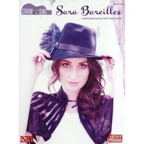 HAL LEONARD BAREILLES SARA STRUM AND SING GUITAR EASY - LYRICS AND CHORDS