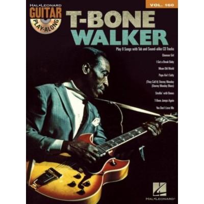 HAL LEONARD GUITAR PLAY-ALONG VOL.160 - T-BONE WALKER + ONLINE AUDIO