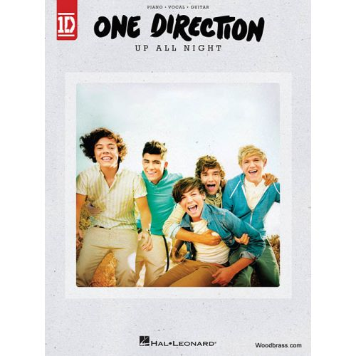 HAL LEONARD ONE DIRECTION - UP ALL NIGHT - PVG