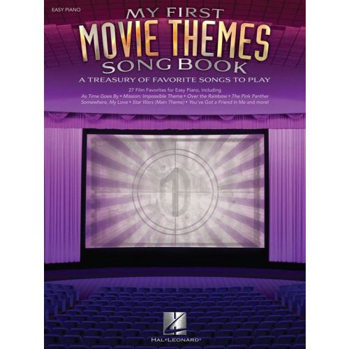 HAL LEONARD MY FIRST MOVIE THEMES SONGBOOK - PIANO SOLO