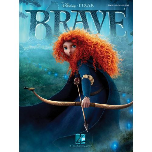 HAL LEONARD BRAVE MUSIC FROM THE MOTION PICTURE SOUNDTRACK - PVG