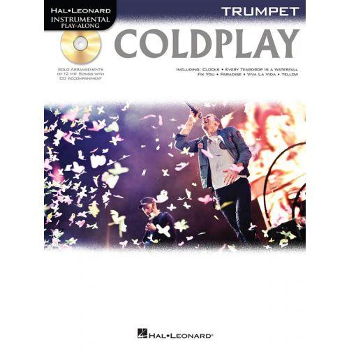 HAL LEONARD INSTRUMENTAL PLAY ALONG - COLDPLAY - TRUMPET