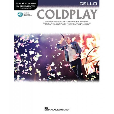 HAL LEONARD INSTRUMENTAL PLAY ALONG - COLDPLAY + MP3 - CELLO