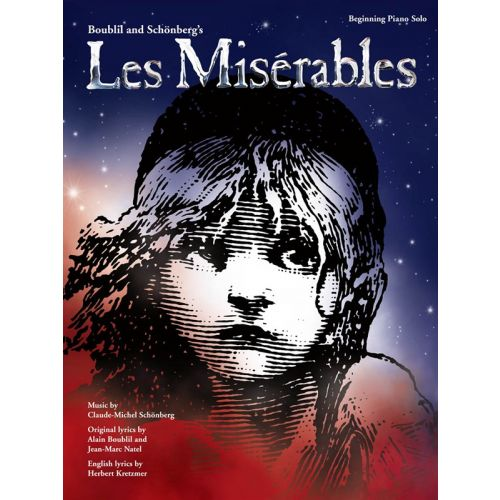 HAL LEONARD BOUBLIL AND SCHONBERG - LES MISERABLES - BEGINNING PIANO SOLO - PIANO SOLO