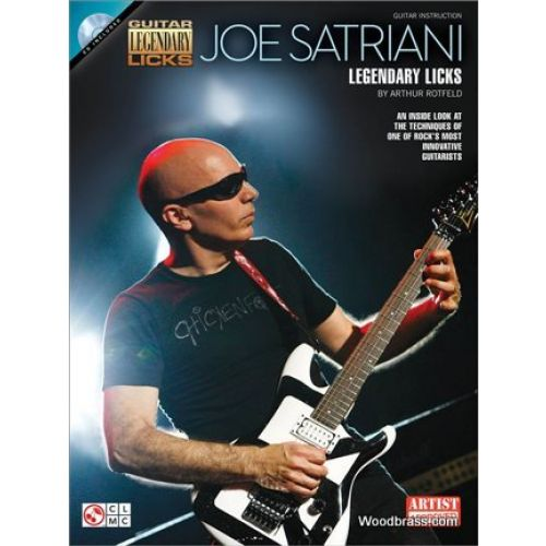 CHERRY LANE JOE SATRIANI - LEGENDARY LICKS - GUITARE