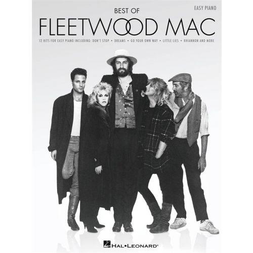HAL LEONARD BEST OF FLEETWOOD MAC EASY - PIANO SOLO