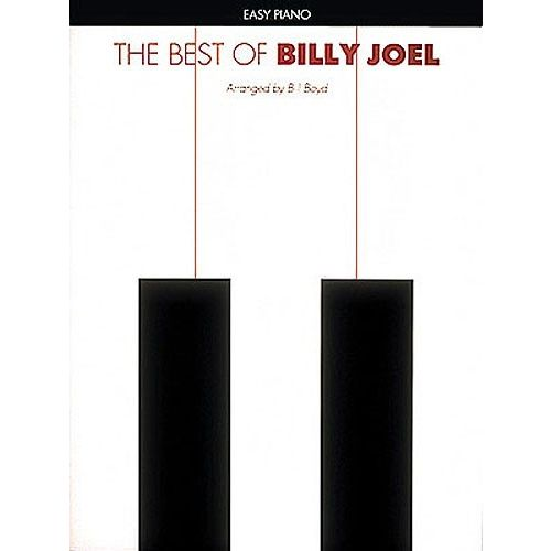 HAL LEONARD THE BEST OF BILLY JOEL FOR EASY - PIANO SOLO
